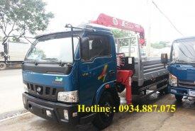 Bán xe tải cẩu Veam Hyundai 5 tấn gắn cẩu Unic URV344 3 tấn 4 khúc thùng dài 5.4 mét giá 1 tỷ 100 tr tại Tp.HCM