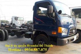 Đại lý bán xe tải Hyundai HD99 6.5 tấn – 6T5 thùng dài 4.9m giá 630 triệu tại Tp.HCM