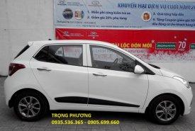 Bán Hyundai Grand i10 đà nẵng, Hotline: TRỌNG PHƯƠNG 0935.536.365, hỗ trợ vay 90% xe giá 370 triệu tại Đà Nẵng
