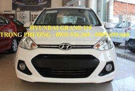 Xe ô tô Hyundai Grand i10 chiếc Đà Nẵng, LH: Trọng Phương - 0935.536.365, hỗ trợ vay 90% xe giá 370 triệu tại Đà Nẵng