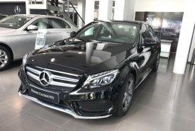 Bán Mercedes C300 AMG 2017 màu đen, chạy lướt giá cực tốt giá 1 tỷ 590 tr tại Hà Nội