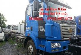 Bán xe tải Faw 8 tấn (8T) thùng siêu dài 9.8 mét chở hàng cồng kềnh giá 765 triệu tại Tp.HCM