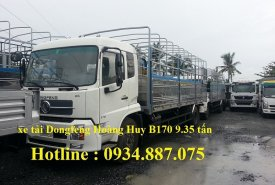 Bán xe tải Dongfeng B170 9T35 - xe tải Dongfeng Hoàng Huy B170 9.35 tấn giá 710 triệu tại Tp.HCM
