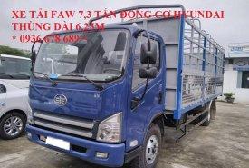 Xe tải Faw 7.3 tấn động cơ Hyundai D4DB, thùng dài 6.25m. Giá tốt nhất thị trường giá 540 triệu tại Hà Nội