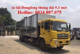 Bán xe tải dongfeng 7 tấn (7T) thùng kín dài 9.3 mét chuyên chở hàng điện tử, cồng kềnh giá 775 triệu tại Tp.HCM