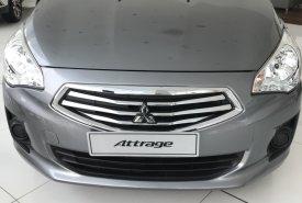 Bán xe Mitsubishi Attrage MT eco đời 2019, màu xám, nhập khẩu Thái, 375 triệu giá 375 triệu tại Tp.HCM