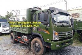 Đại lý bán xe ben Dongfeng 8T5 - 8,5 tấn - 8.5T 1 cầu thùng ben 7 khối giá 490 triệu tại Tp.HCM