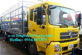 Giá bán xe tải Dongfeng B170 9T35 – 9,35 tấn – 9.35T máy Cummins nhập khẩu giá 700 triệu tại Tp.HCM
