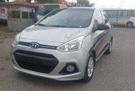 Cần bán gấp Hyundai Grand i10 1.2AT năm 2016, màu bạc, nhập khẩu chính hãng, chính chủ giá 416 triệu tại Hà Nội