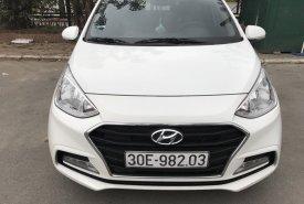 Cần bán xe Hyundai i10 1.2MT sedan đời 2017, màu trắng giá 412 triệu tại Hà Nội