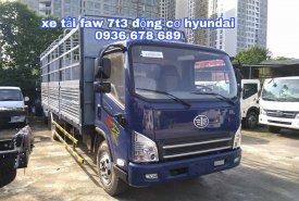 Xe tải Faw Hyundai 7,3 tấn, thùng dài 6m25, đời mới, giá rẻ nhất giá 560 triệu tại Hà Nội