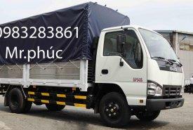 Bán xe tải Isuzu 1T9 thùng bạt, xe có sẵn giao ngay - Hỗ trợ vay trả góp 90% giá 525 triệu tại Bình Dương