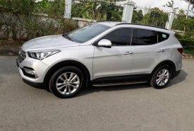 Cần bán xe Hyundai Santa Fe 2017 màu bạc 2.4 tự động giá 985 triệu tại Tp.HCM