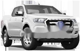 Bán Ford Ranger XLT 2.2l 4x4MT sản xuất năm 2017, màu trắng, giá 610tr giá 610 triệu tại Hải Phòng