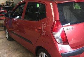 Bán ô tô Hyundai Grand i10 năm 2009 màu đỏ, xe nhập Ấn Độ giá 225 triệu tại Hà Nội