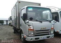 Xe tải JAC 4,95 tấn thùng dài 4,3 mét thùng bạt giá 250 triệu tại Tp.HCM