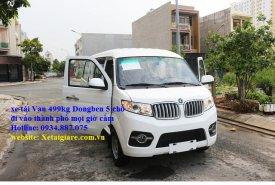 Xe tải Van Dongben 490kg 5 chỗ ngồi đi vào thành phố mọi giờ cấm tải giá 295 triệu tại Tp.HCM