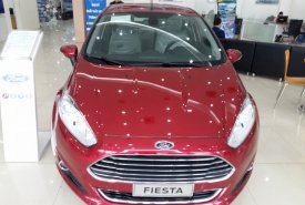 Bán xe Ford Fiesta 1.5 AT màu đỏ giá 500 triệu tại Hà Nội