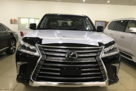 Bán Lexus LX570 màu đen, nội thất nâu, nhập Mỹ, bản full kịch đồ, sản xuất 2018, xe giao ngay, giá tốt giá 9 tỷ 225 tr tại Hà Nội