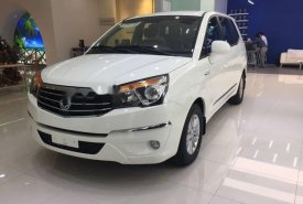 Cần bán xe Ssangyong Stavic 2017, màu trắng, nhập khẩu nguyên chiếc Hàn Quốc giá 950 triệu tại Tp.HCM