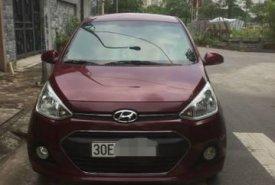 Cần bán lại xe Hyundai Grand i10 năm 2017, màu đỏ số sàn giá 368 triệu tại Hà Nội