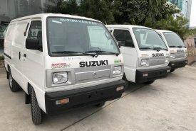 Bán xe Suzuki Super Carry Van đời 2018, màu trắng giá cạnh tranh giá 284 triệu tại Hà Nội