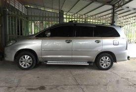 Cần bán lại xe Toyota Innova G sản xuất 2009, màu bạc xe gia đình, giá 410tr giá 410 triệu tại Bến Tre