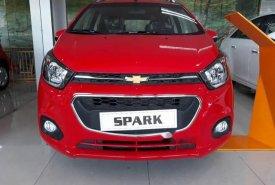 Bán ô tô Chevrolet Spark LS năm sản xuất 2018, màu đỏ, 359tr giá 359 triệu tại Tp.HCM