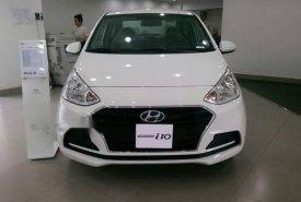 Bán Hyundai Grand i10 năm 2018, màu trắng  giá 350 triệu tại Tp.HCM