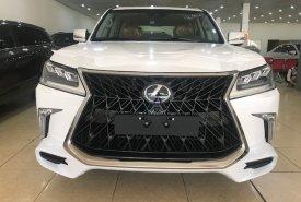 Bán Lexus LX570 Super Sport S 2020 Trung Đông Trắng nội thất nâu da bò Mới 100%  giá 9 tỷ 150 tr tại Hà Nội