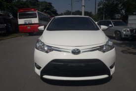 Cần bán Toyota Vios 1.5E AT 2017, màu trắng giá 535 triệu tại Hà Nội