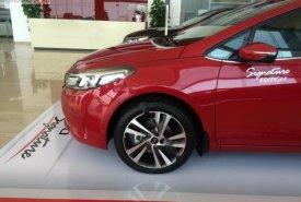Bán Kia Cerato 1.6 AT sản xuất 2018, màu đỏ, giá tốt giá 589 triệu tại Quảng Ninh