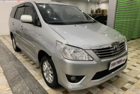 Bán Toyota Innova 2.0E 2013, màu bạc, xe gia đình, giá 540tr giá 540 triệu tại Khánh Hòa