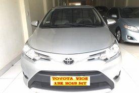 Cần bán Toyota Vios 1.5E năm 2015, màu bạc giá 460 triệu tại Hà Nội