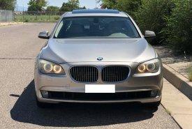 Bán xe BMW 750 Li 2011 màu vàng cát, nhập Mỹ, full option giá 1 tỷ 190 tr tại Tp.HCM