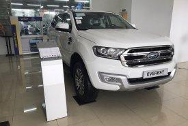 Bán Ford Everest 2.0L Titanium đời 2018, màu trắng, nhập khẩu nguyên chiếc giá 1 tỷ 112 tr tại Hà Nội