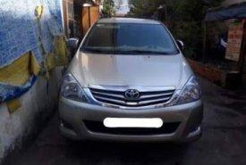 Cần bán Toyota Innova sản xuất năm 2010, màu bạc, giá tốt giá 410 triệu tại Tp.HCM
