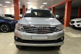 Bán Toyota Fortuner 2.7V AT 4x2 đời 2014, màu bạc giá 699 triệu tại Hà Nội