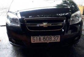 Gia đình bán ô tô Chevrolet Aveo năm 2013, màu đen giá 230 triệu tại Bình Phước