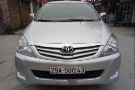 Bán xe Toyota Innova G năm sản xuất 2010, màu bạc, 385 triệu giá 385 triệu tại Hà Nội