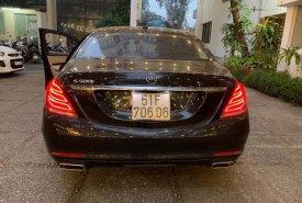 Bán xe Mercedes S500 sản xuất năm 2016, màu đen, nhập khẩu giá 4 tỷ 480 tr tại Tp.HCM