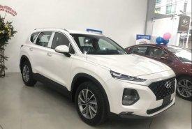 Bán ô tô Hyundai Santa Fe sản xuất 2019, màu trắng giá 1 tỷ 45 tr tại Tp.HCM