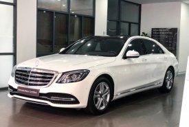 Bán Mercedes S450L màu trắng - Xe chính hãng đã qua sử dụng giá 3 tỷ 699 tr tại Hà Nội