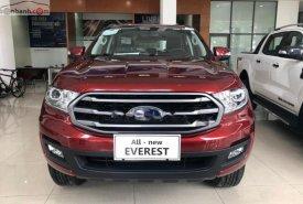 Bán Ford Everest 2019, màu đỏ, nhập khẩu giá 1 tỷ 52 tr tại Tp.HCM