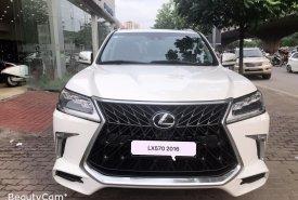 Bán Lexus LX570 nhập Mỹ 2016, full option, biển Hà Nội giá 6 tỷ 850 tr tại Hà Nội