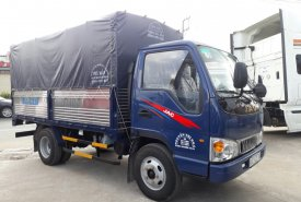 JAC 2 tấn 4 thùng mui bạt 80tr nhận xe giá 395 triệu tại Tp.HCM