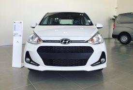 Bán xe Hyundai Grand i10 1.2 AT HB sản xuất 2019, màu trắng, trả trước 120 tr giá 405 triệu tại Tp.HCM