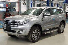 Bán Ford Everest Titanium 2.0L 4x4 AT 2019, màu bạc, nhập khẩu giá 1 tỷ 399 tr tại Tp.HCM