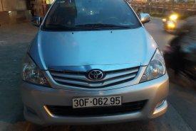 Nhà trật bán xe Innova G đời 2011, màu bạc giá 400 triệu tại Hà Nội