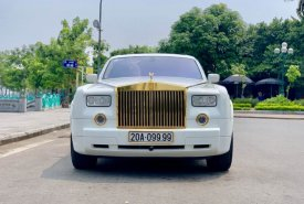 Cần bán xe Rolls-Royce Phantom Series VII năm 2008, màu trắng, xe nhập giá 13 tỷ 500 tr tại Hà Nội